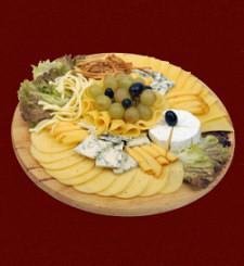 wynajem stołów i krzeseł - Menu Deska serów