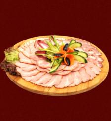 wypożyczalnia sprzętu cateringowego bielsko - Menu Deska Mięs