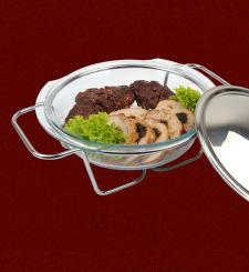 wypożyczalnia sprzętu cateringowego bielsko - Menu Podgrzewacze szklane Propozycja IV